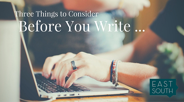 Before You Write